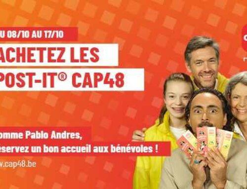 CAP48, nous vendons les post-it ici !